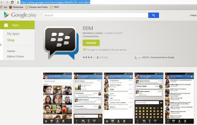 Aplikasi BBM for Android
