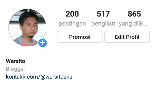 cara menambah link banyak di profil instagram
