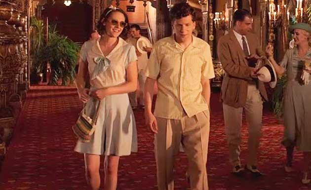 Café Society vestido anos 30, figurino filme