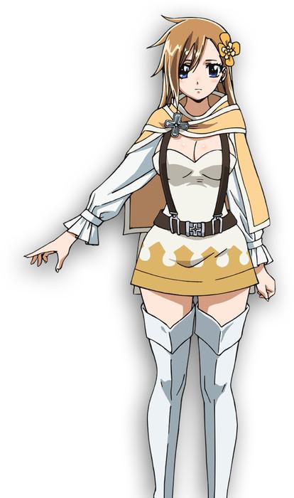 Aoi Yuki como Sonya, asistente del Rey Animus