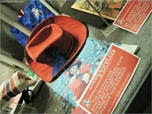 Sombrero de las Animadoras de los Patriots