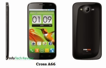 HP Cross A66 Android Andalkan Kamera