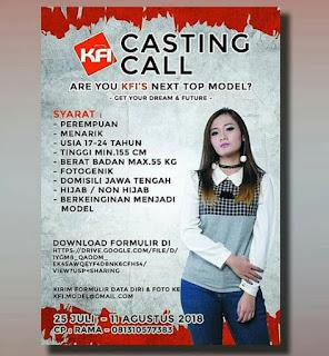 cara mengikuti casting HUT komunitas fotografi indonesia ke-7