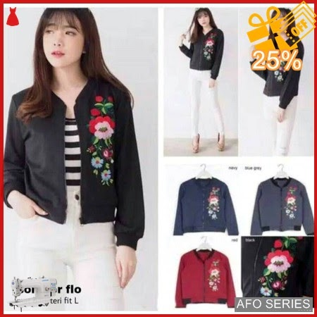 AFO169 Model Fashion Bomber Flo Modis Murah BMGShop