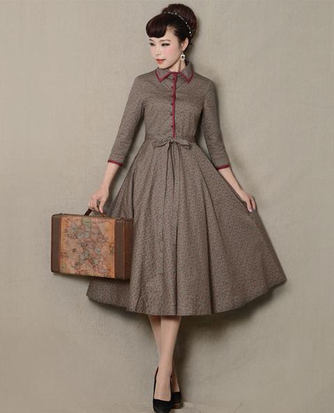 model baju vintage 2017