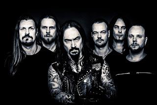 Photo des membres d'Amorphis