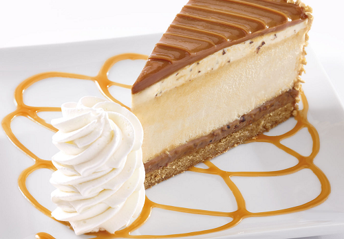 Salted Caramel Cheesecake from The Cheesecake Factory