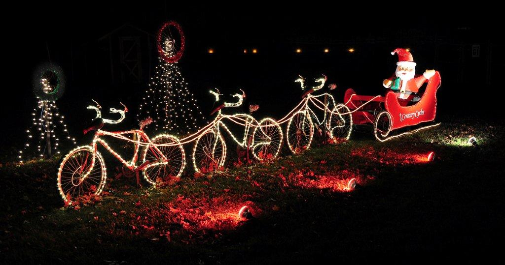Take your family to the brightest Christmas light display in town. Kids will surely love it!