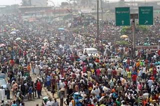 Nigeria population Lagos