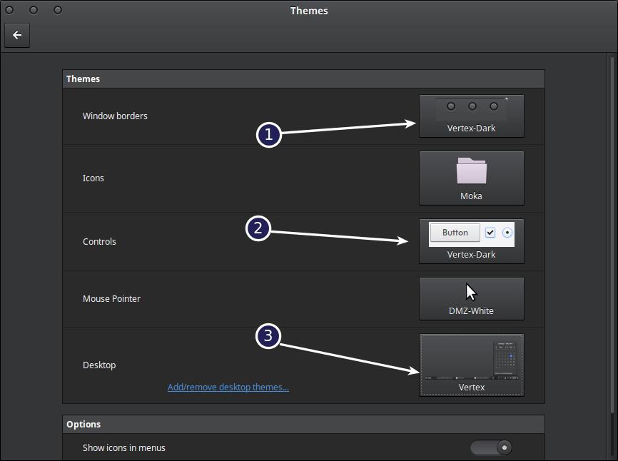 Ways to Install Vertex Dark Cinnamon Theme for Linux Mint
