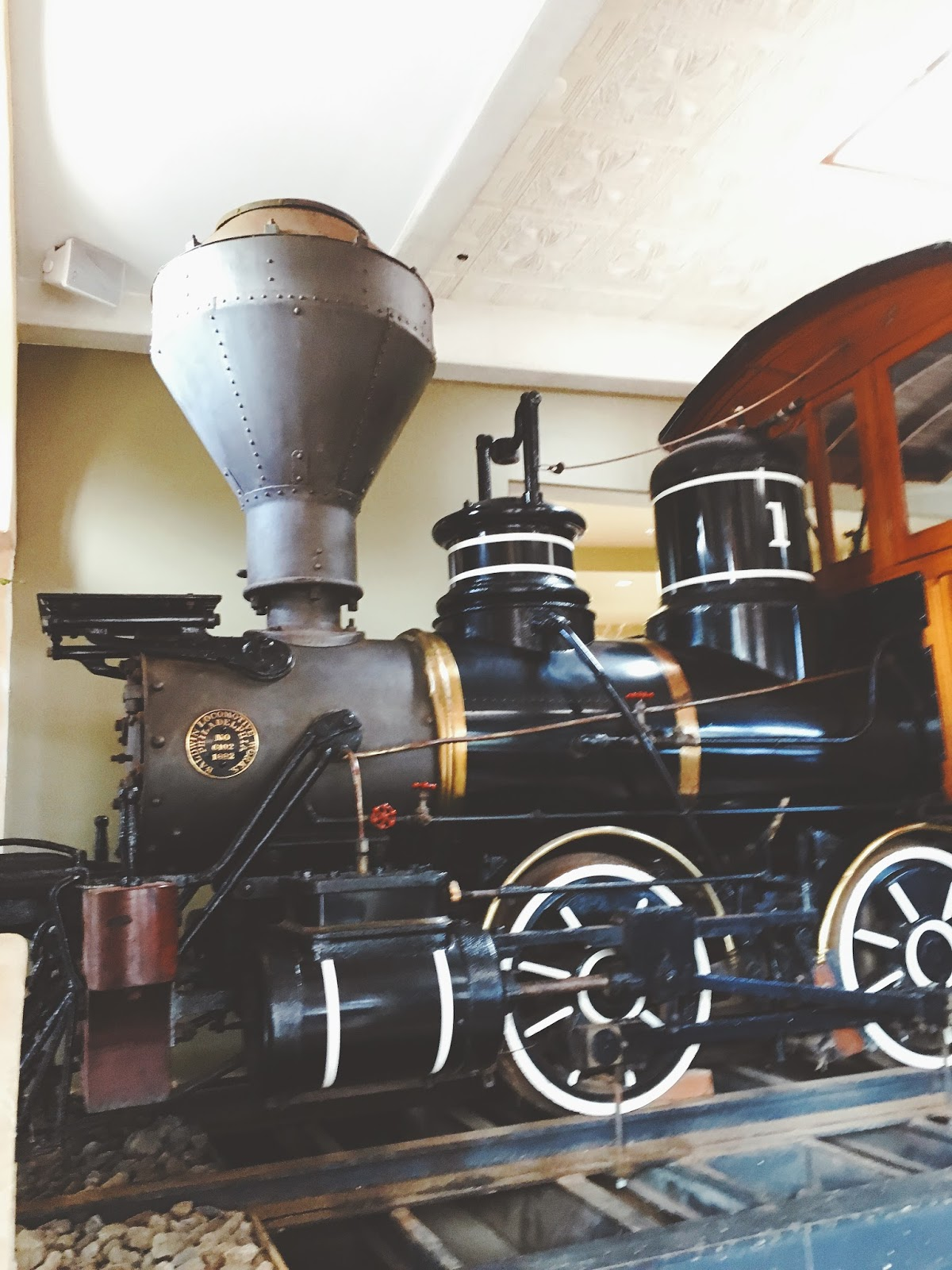 train in The Mill House