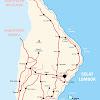 Peta Kabupaten Karangasem Bali Lengkap