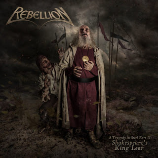 "Rebellion - ""A Fool's Tale"" (video) from the album ""A Tragedy in Steel Part II: Shakespeare's King Lear"""