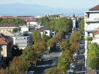 A view of the Crocetta district, where Levi lived almost all  his life in the same apartment. (Photo: Gianpiero Actis)