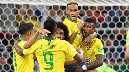 Brazil được coi là đội bóng đầu tiên giành suất tham dự VCK World Cup 2018