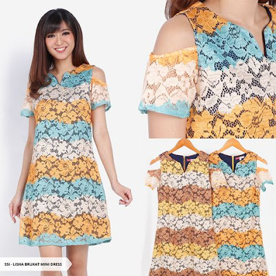 baju mini dress natal model terbaru 2018