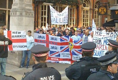The EDL at Tower Hamlets #2, King's Cross
