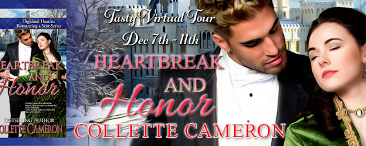 Blog Tour: Heartbreak and Honor by Collette Cameron; Review + Giveaway