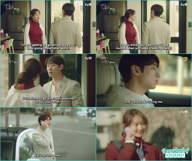 ma rin and So Joon lived a happy life arguing and cherishing each other - Tomorrow With You: Episode 16 Finale
