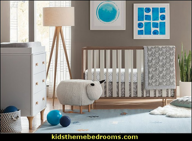 Glasper Sheep Ottoman   modern baby nursery - modern kids bedrooms - modern childrens furniture - modern baby bedding - modern home style decorating Mid Century modern decor - Modern baby bedrooms  - modern baby girls nursery - modern baby boys nursery - modern baby