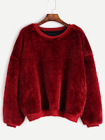 http://es.shein.com/Burgundy-Dropped-Shoulder-Seam-Fuzzy-Sweatshirt-p-326581-cat-1773.html?aff_id=8741