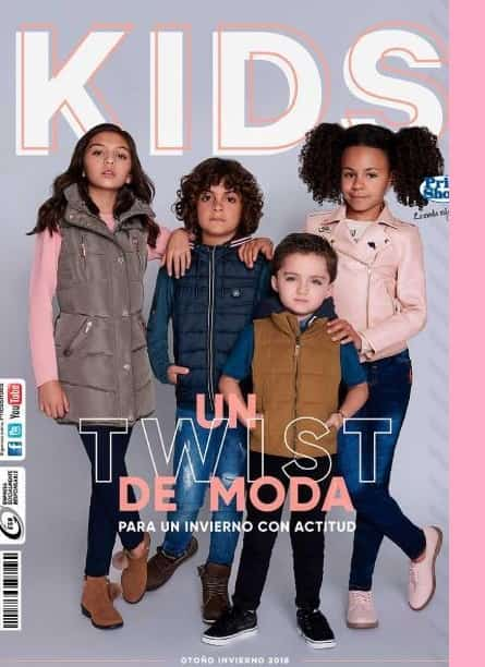 Catalogo  Price shoes Kids Otoño Invierno 2018