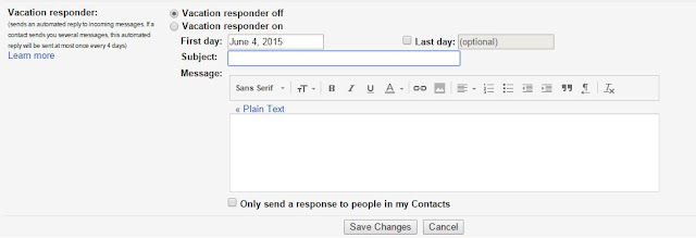 send automated emails