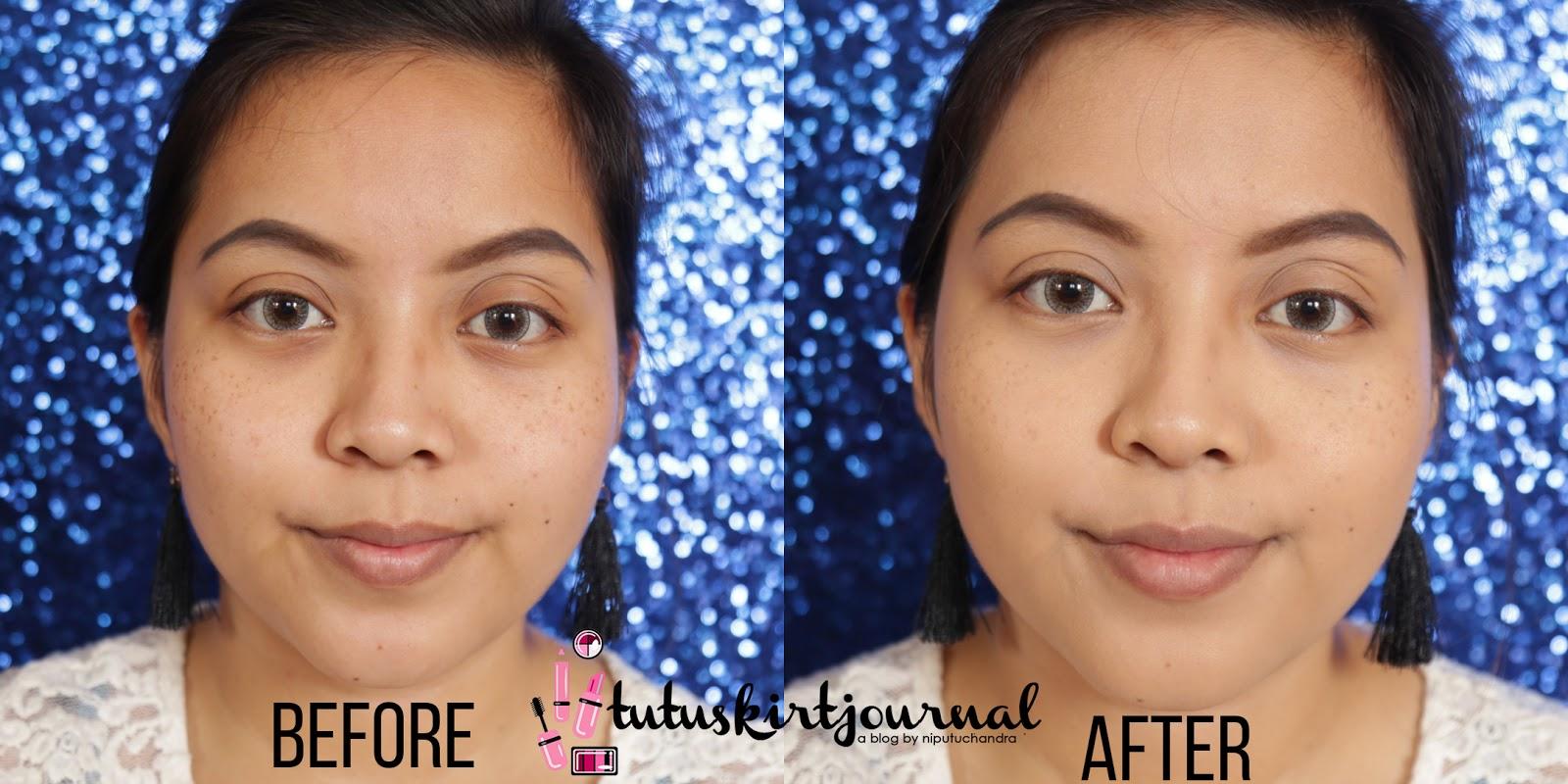 Tutuskirtjournal Review Purbasari Brightening Cool Bb Cream 35ml Sebelum Dan Sesudah Penggunaan Produk