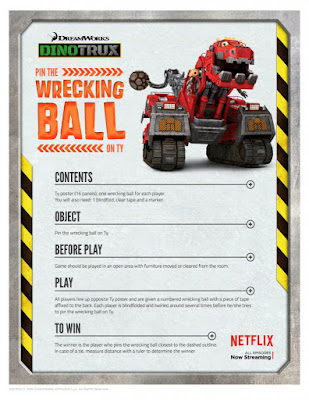 Dinotrux printable activities