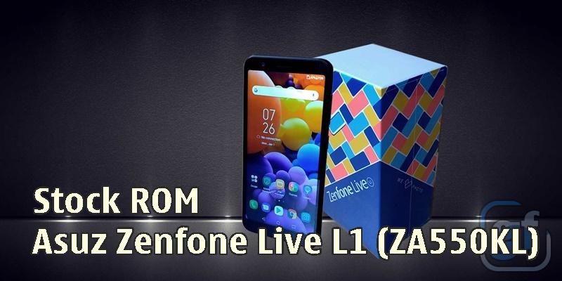 Firmware Asus Zenfone Live L1 (ZA550KL)