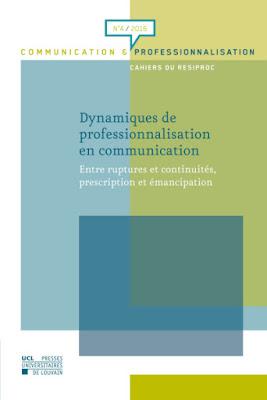 Couverture revue Communication et professionnalisation n°4