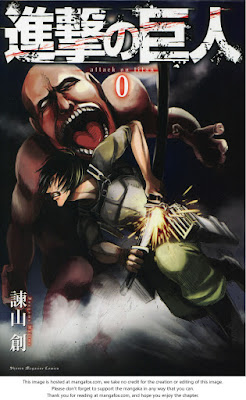 konsep awal Manga Attack On Titan