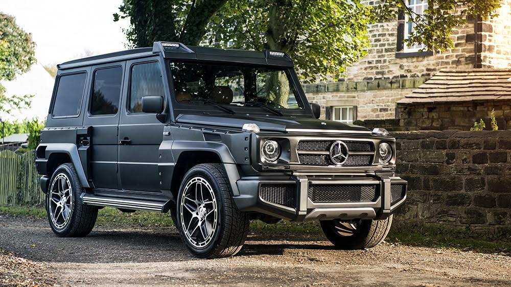 motoring malaysia chelsea truck company 39 s take on the mercedes benz g350 a wide arched monsta. Black Bedroom Furniture Sets. Home Design Ideas
