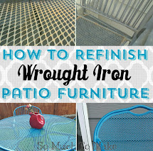 Refinish Wrought Iron Patio Furniture Much