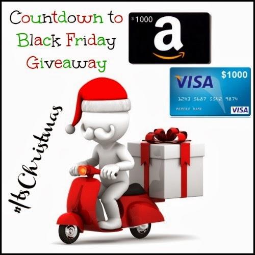 $1000 Gift Card or Cash Black Friday Giveaway