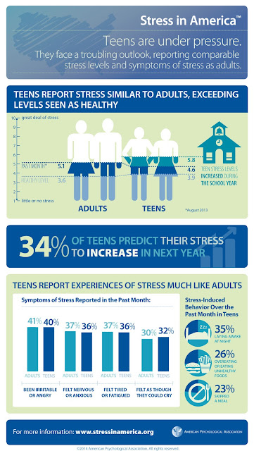 Stress in America™ 2013, Infographics, APA