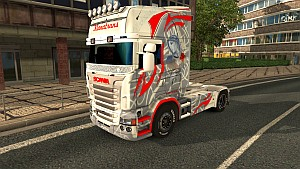 Red Rose for Scania RJL