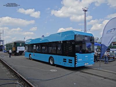 Ekova Electron 12, Dopravní podnik Ostrava, Czech Raildays
