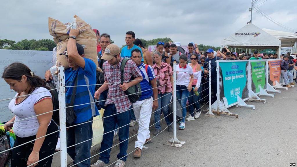 La crisis venezolana ha provocado la mayor diáspora de su historia con más de 3,5 millones de migrantes / VOA