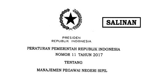 Mekanisme Pemberhentian PNS Sesuai PP 11 Tahun 2017