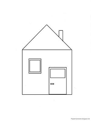 Wiola 39 s papiermomente geometrische formen for Haus formen
