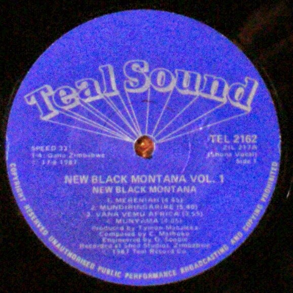 Afro Synth New Black Montana Vol 1 1987
