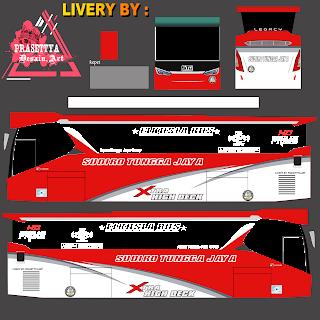 Download Livery Es Bus Id STJ X-HD PRIME MERAH