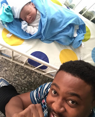 Nollywood Actor Nosa Rex and Wife Deborah Welcome Baby Boy - Pictures