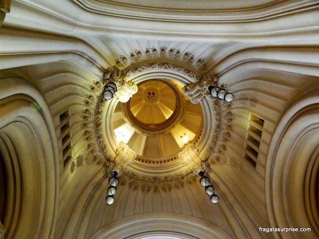 Detalhe da cúpula do Palácio Barolo, em Buenos Aires