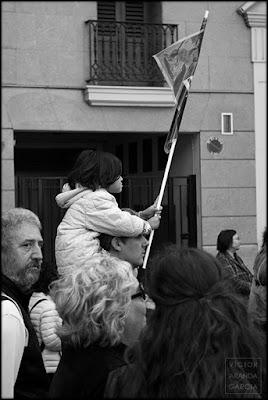 manifestacion,valencia,fotografia