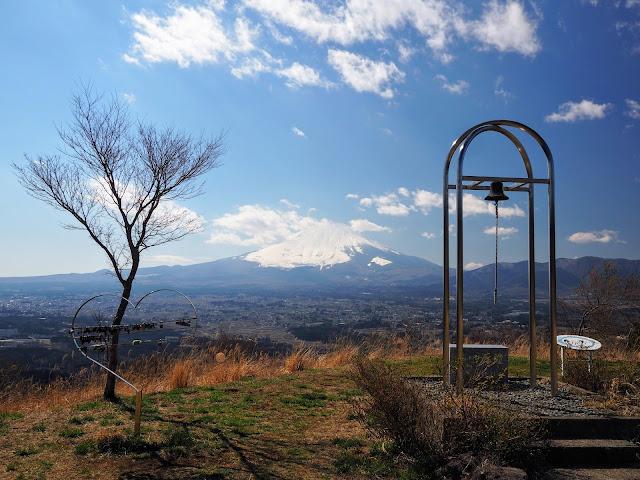 金太郎富士見ライン 富士山 誓いの丘