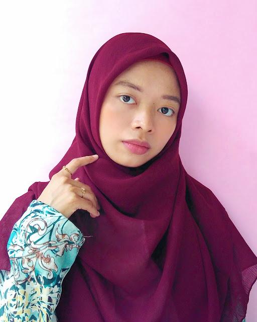 hijab square premium corn skin