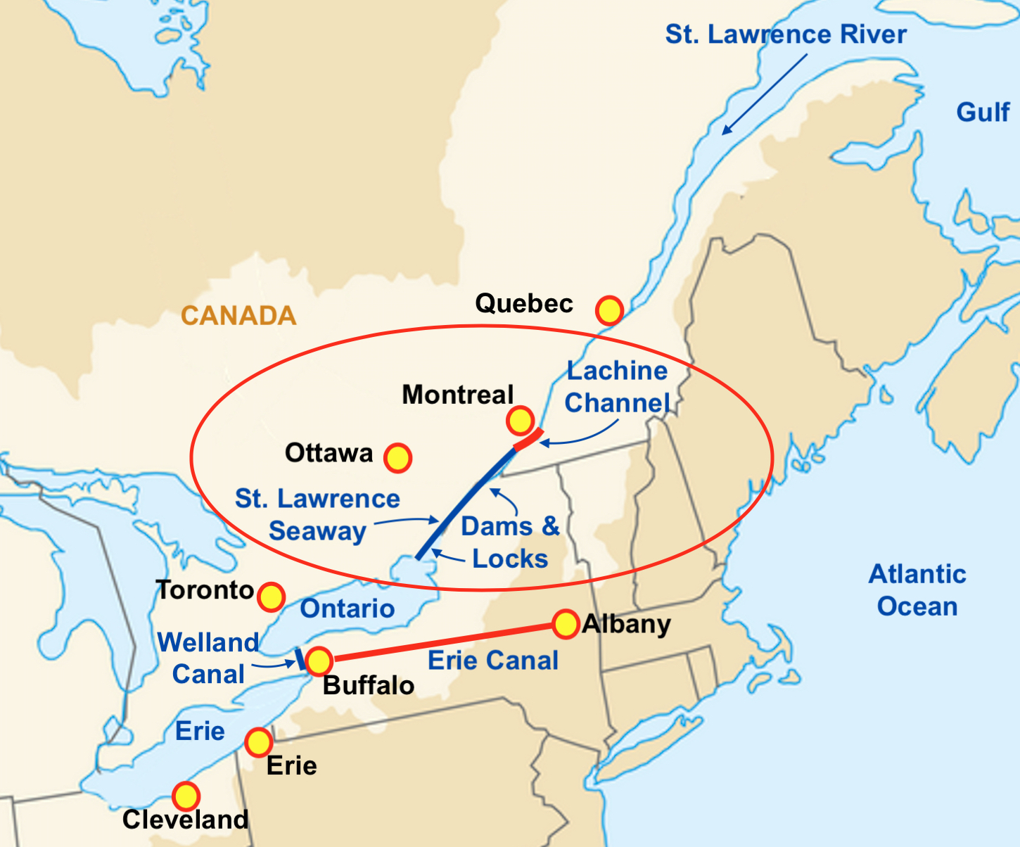 St. Lawrence River: how to get there Photos 34
