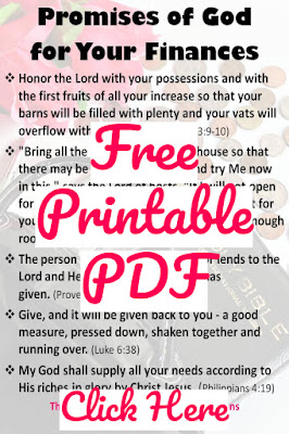 Promises of God Printable PDF